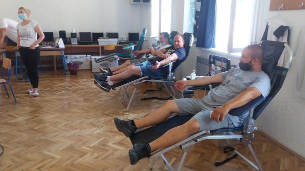 U Grabu prikupljeno 47 doza krvi